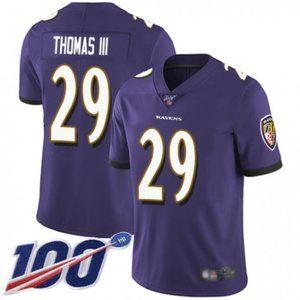 Baltimore Ravens Earl Thomas 100th Season Jersey (